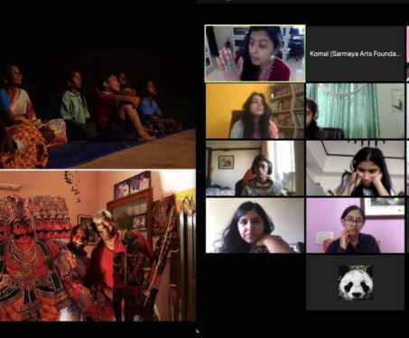 Tholu Bommalaata - Virtual Workshop - tholu bommalaata, Virtual Workshop