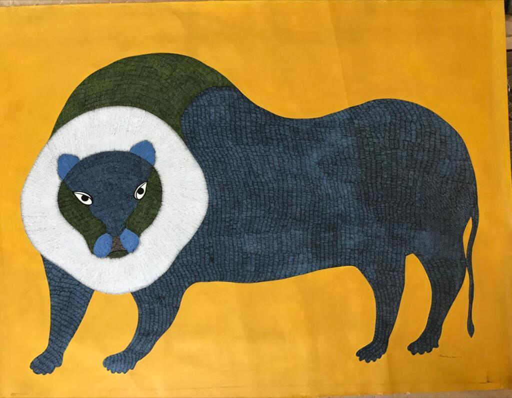 Untitled (Gond Art) - Gariba Singh Tekam, Gond, What's New