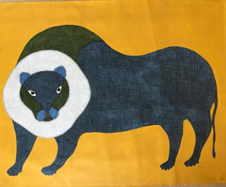 Untitled (Gond Art) - Gariba Singh Tekam, Gond, What's New