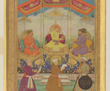 Book of Kings: Early Mughal portraits in Muraqqa's - featured, Miniature, Mughal, Mughal Art, Portraits
