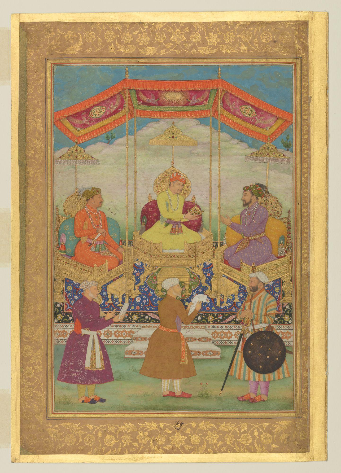 Book of Kings: Early Mughal portraits in Muraqqa's - Reads