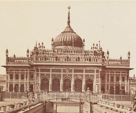 Hosainabad, Lucknow - 19th Century Photography, Colonial India, Felice Beato, Lucknow