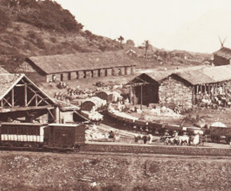 Khandala Railway Station - 19th Century Photography