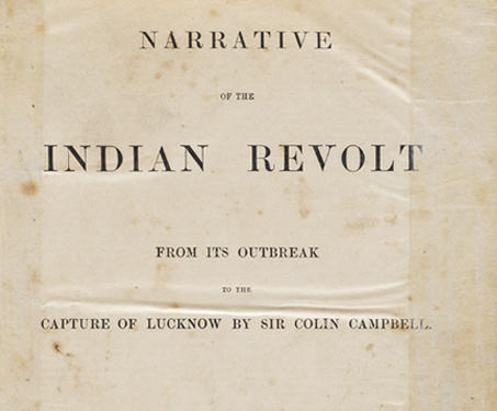 Museum objects - 1857, British East India Company, British India, Delhi, Indian Uprising of 1857, Lucknow