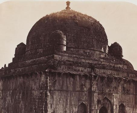 Hoshang Shah's Tomb (Jama Masjid), Mandu - 19th Century Photography, Fort, Madhya Pradesh, Mandu