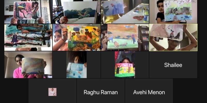 Name, Place, Animal, Wings!- Virtual Workshop - Sarmaya @School